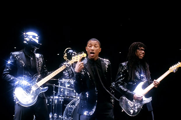 Daft Punk with Pharrell and Nile Rodgers