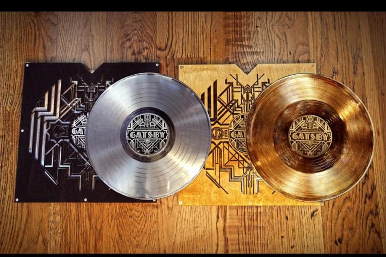 Great Gatsby Soundtrack Vinyl Gold Platinum Third Man Records