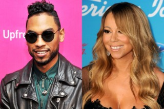 See Mariah Carey and Miguel Go for a Sexy Motorcycle Ride (and More) in '#Beautiful' Video