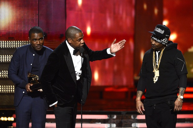 Jay zings The-Dream at the Grammys / Photo by Getty Images