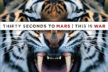 "30 Seconds to Mars, ""This Is War,"" RIAA, gold, platinum, awards, streams"