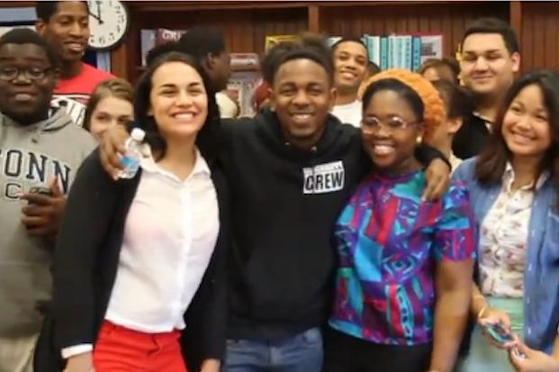 Kendrick Lamar Is the Coolest High School Principal in Rhode Island