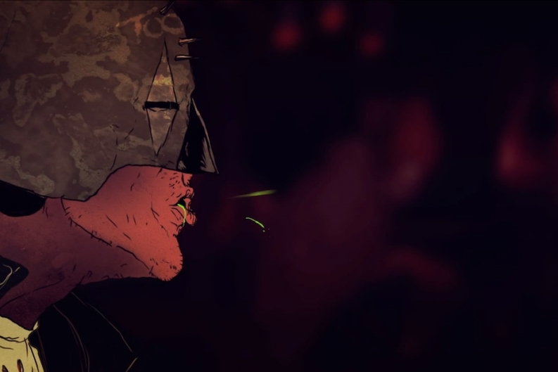 See Queens of the Stone Age's Latest Gross Animated Video 'Keep Your Eyes Peeled'