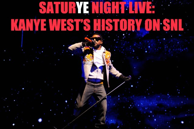 SaturYe Night Live: Kanye West's History on 'SNL'