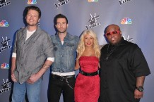 'The Voice,' Blake Shelton, Adam Levine, Christina Aguilera, Cee Lo