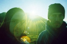 Boards of Canada out in a beautiful place in the country