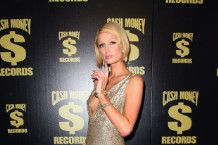 Paris Hilton at Cash Money's 2009 Grammy party