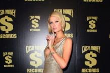 Paris Hilton at Cash Money's 2009 Grammy party