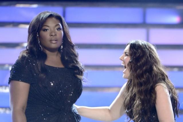 Candice Glover, Kree Harrison, 'American Idol,' finale