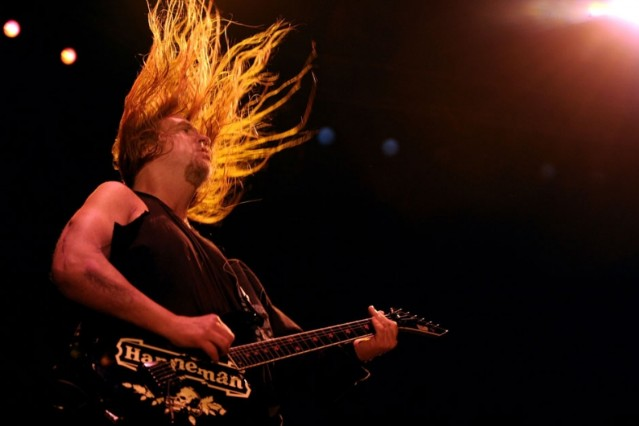 slayer, jeff hanneman, memorial service