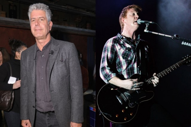 anthony bourdain, queens of the stone age, like clockwork