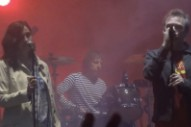 Shoepergaze! Jesus and Mary Chain Get an Onstage Assist from a Bloody Valentine