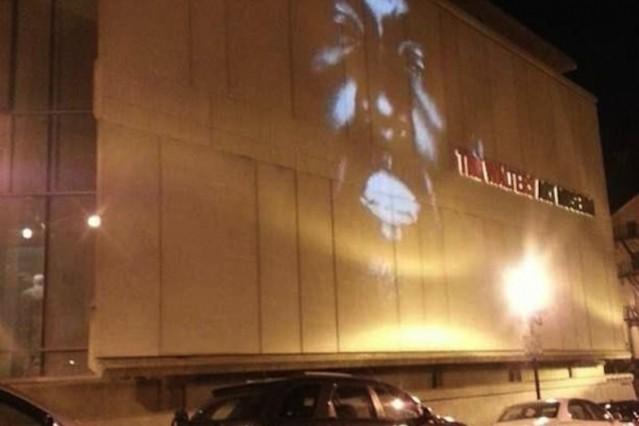 Yeezus on Baltimore's Walters Art Museum / Photo by @ebbsolutely