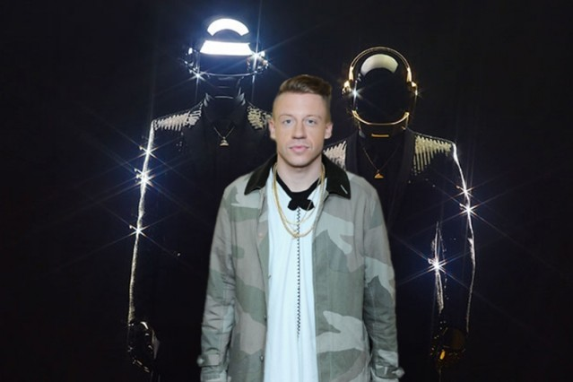 Daft Punk Random Access Memories Macklemore Can't Hold Us Billboard Chart