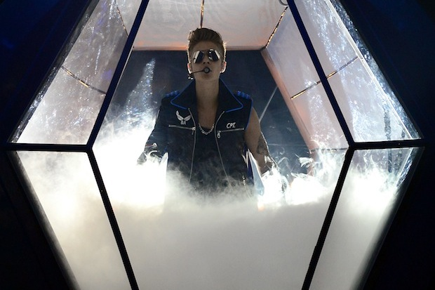 Justin Bieber, imaging if that was pot smoke.