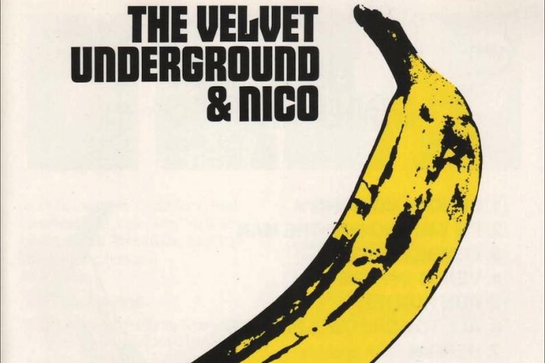 Velvet Underground, Nico, Andy Warhol, banana