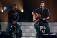 blake shelton, usher, oklahoma, tornado, healing in the heartland