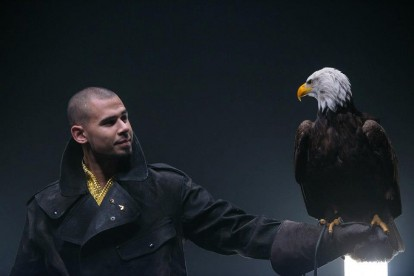 Afrojack on the set of 'As Your Friend' video