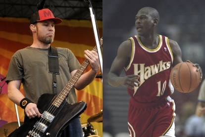 Pearl Jam, Jeff Ament, Mookie Blaylock
