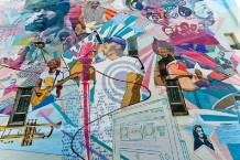 The Roots, mural, Philadelphia