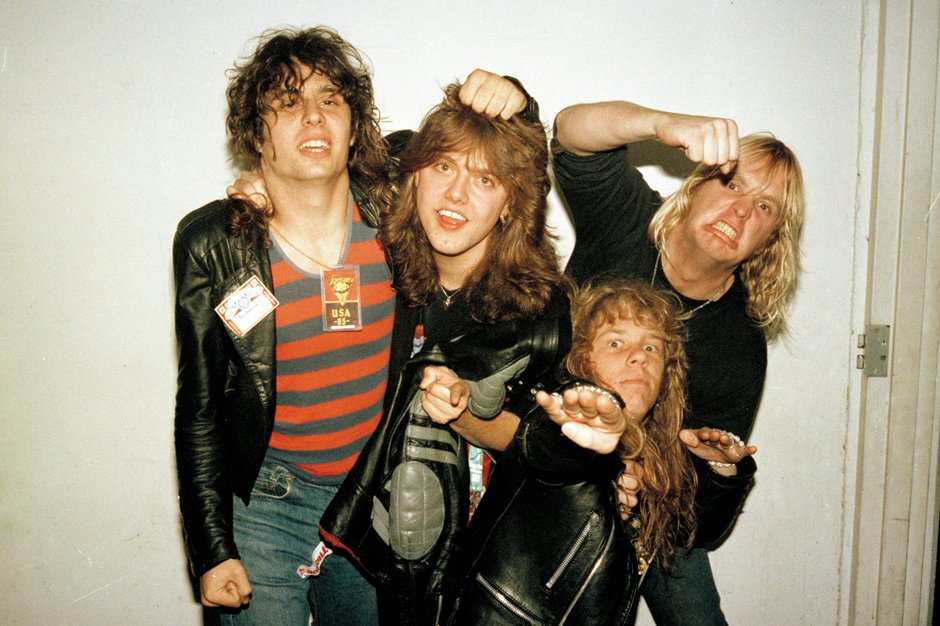 Metal Babes Rare Photos Of Slayer And Metallica From The