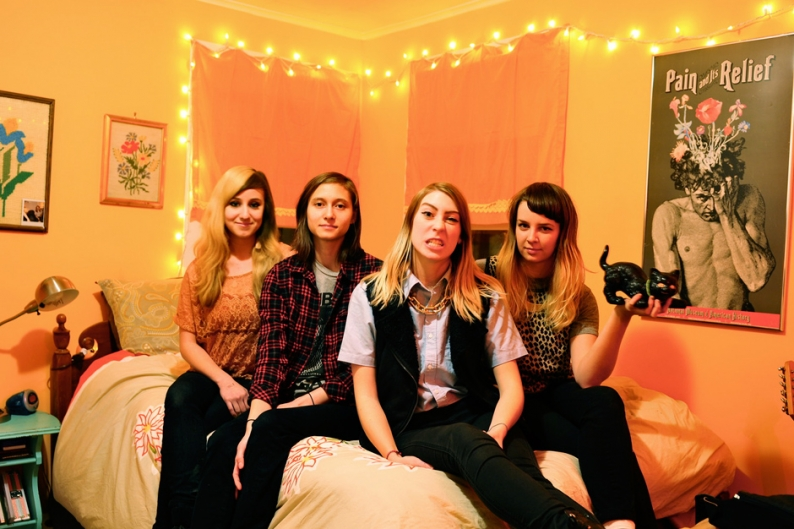 Potty Mouth 'The Spins' Stream Hell Bent Album
