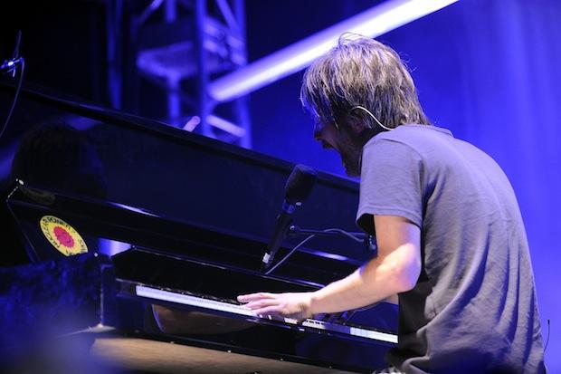 Thom Yorke at Coachella 2013