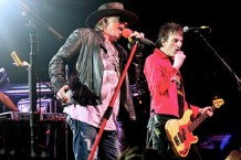 Axl Tries Not to Barf at Intimate Guns N' Roses Brooklyn Bowling Alley Show