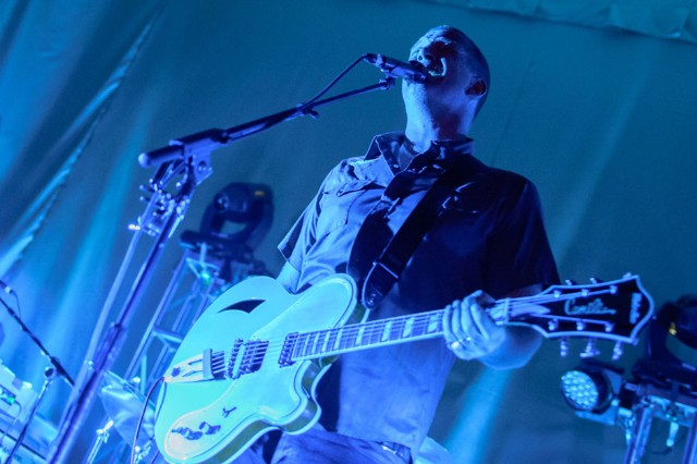 Queens of the Stone Age at Brooklyn Masonic Temple / Photo by Chad Kamenshine