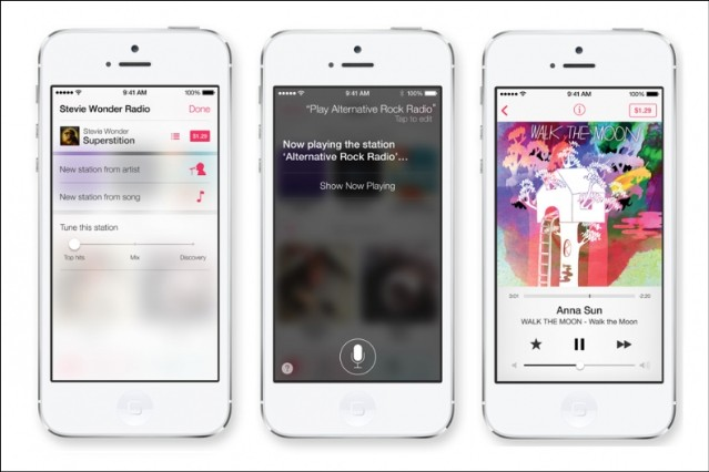 Apple Music Streaming Service iTunes Radio