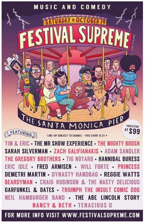 Tenacious D Jack Black Announce Music Comedy Festival Supreme