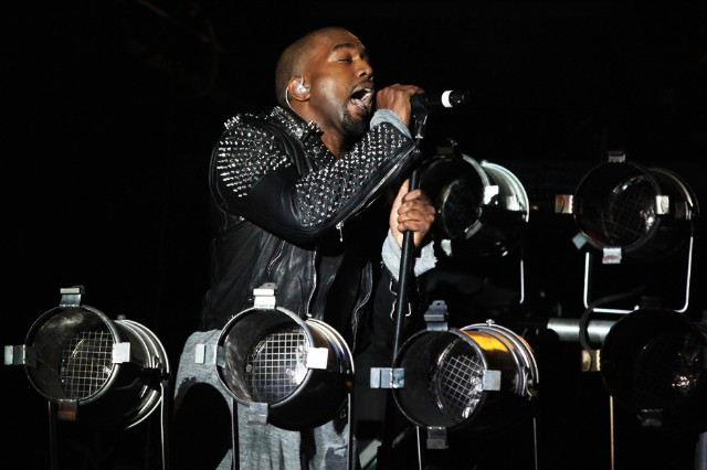 Kanye West at Governors Ball, New York City, June 9, 2013
