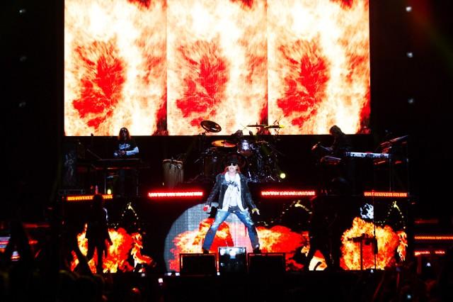 Guns N' Roses at Governors Ball, New York City, June 8, 2013