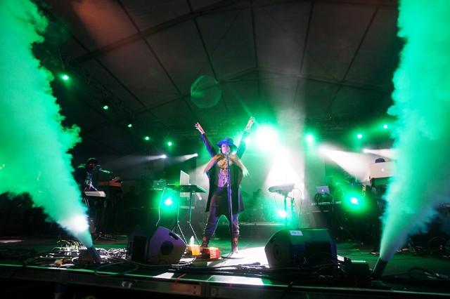 Erykah Badu at Governors Ball, New York City, June 7, 2013