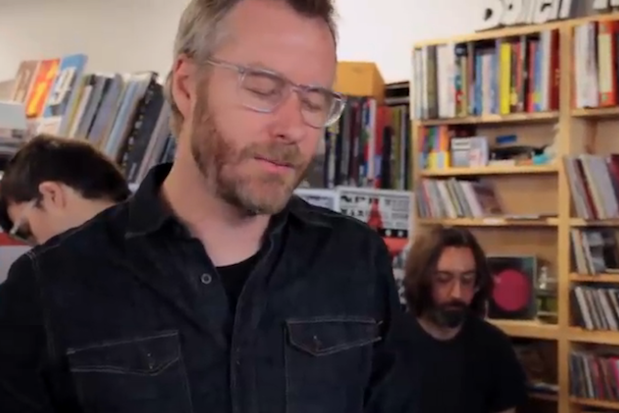 Watch The National S Comfortably Claustrophobic Tiny Desk Concert Spin