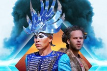 Luke Steele (left) and Nick Littlemore