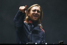 David Guetta at Electric Daisy Carnival, Chicago, 2013