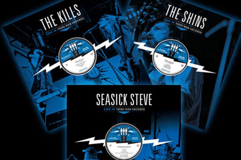 third man records, the shins, the kills, seasick steve