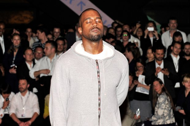 Kanye West at  Yeezus  listening session c6473565b