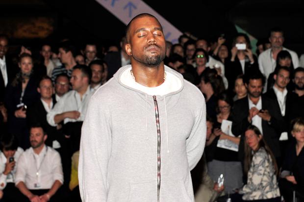 Kanye West at 'Yeezus' listening session, Basel, Switzerland / Photo by Getty Images