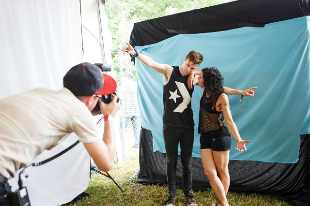 Matt and Kim / Photo by Chad Kamenshine