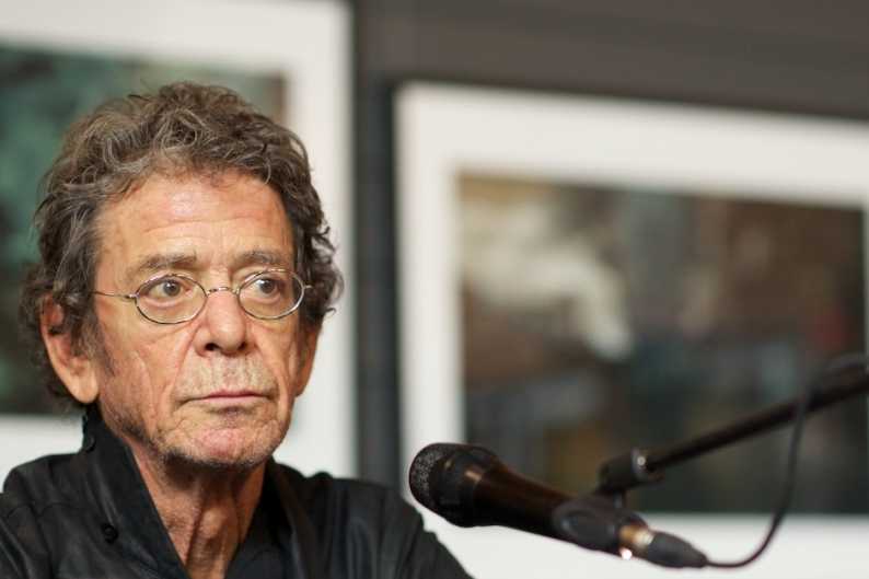 Lou Reed Still Feisty as Ever in First Public Appearance Since Liver Transplant