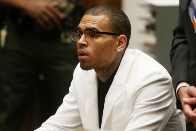 Chris Brown Hit Run Charged Jail Drivers License