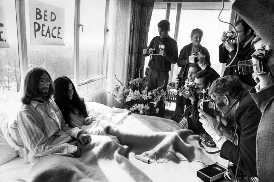 1969: John and Yoko Invite the World into Their Bed