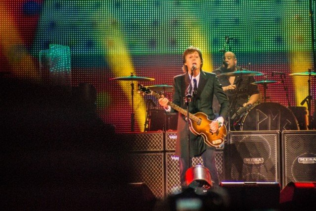 Paul McCartney at Bonnaroo 2013 / Photo by Ian Witlen