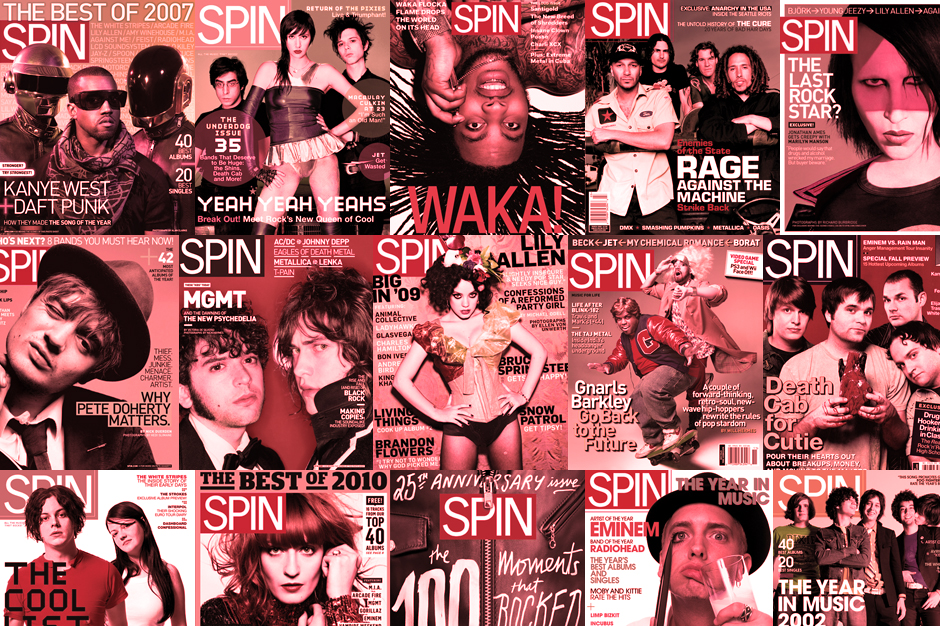 SPIN's Complete Covers Gallery: The 2000s to Today