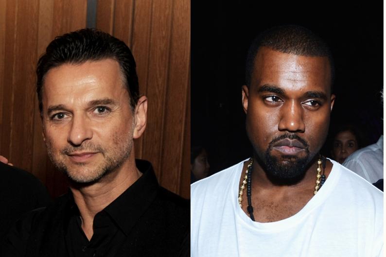 Kanye West Depeche Mode Personal Yeezus Black Skinhead Single