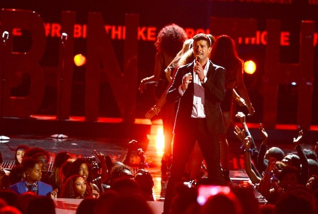 #THICKE at the BET Awards