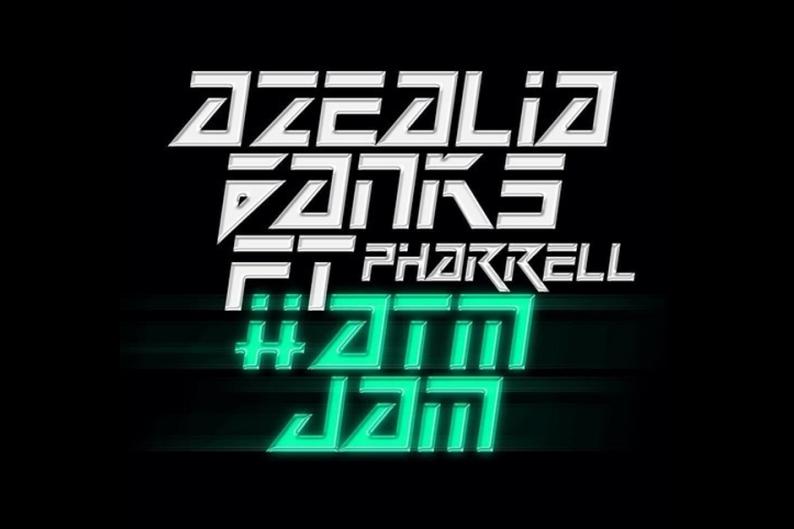 Azealia Banks Pharrell 'ATM Jam' Single