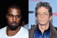 Lou Reed, Kanye West, Yeezus review, health problems